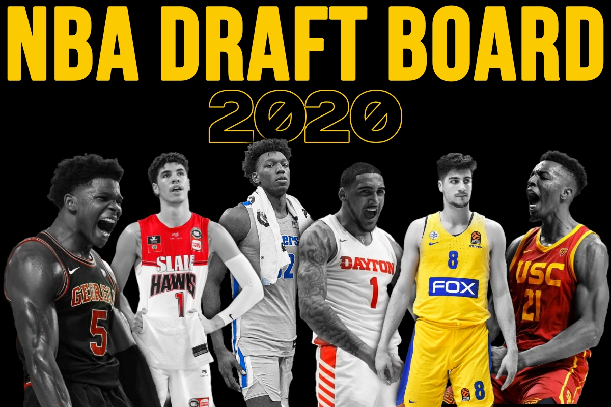 2020 NBA Draft Board