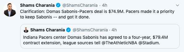 Domantas Sabonis Extension