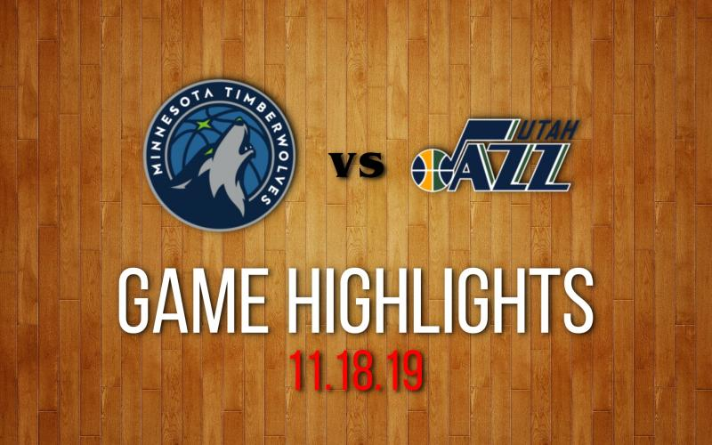 Minnesota Timberwolves vs Utah Jazz