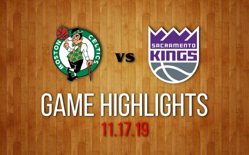 Boston Celtics vs Sacramento Kings