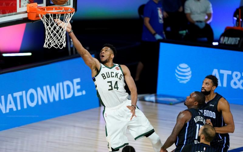 Milwaukee Bucks vs Orlando Magic, Game 4