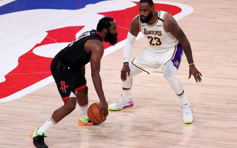 Houston Rockets vs Los Angeles Lakers, Game 3