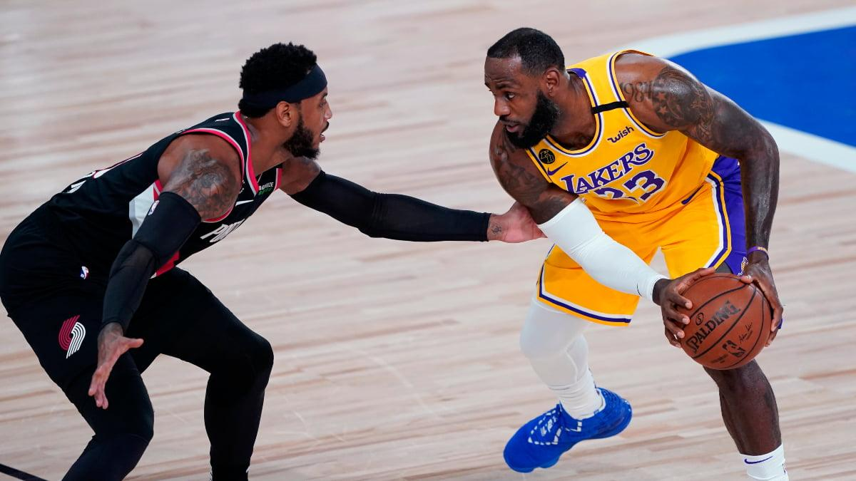 Portland Trail Blazers vs Los Angeles Lakers, Game 5